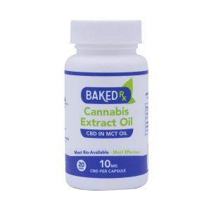 Baked Rx CBD Capsules