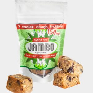 Jambo THC Hybrid Cookie Dough Truffle – Cup Winner!